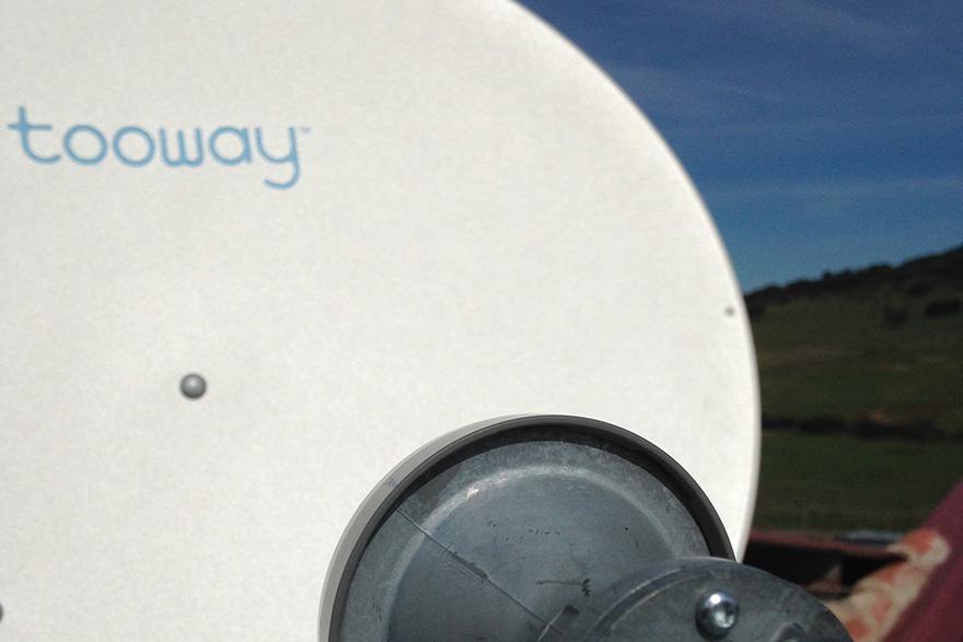 Adiós a la brecha Digital de Internet con la tecnología por satélite de Tooway.