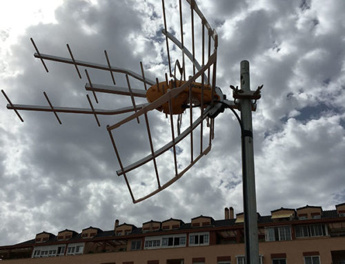 Reparación Antena de TV