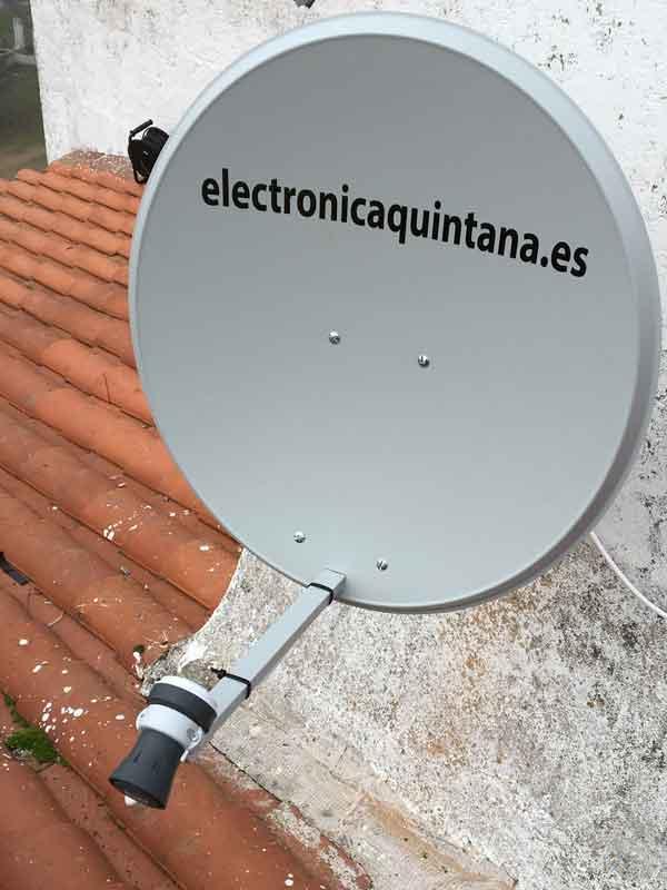 Instalación Antena Parabólica Satélite Astra