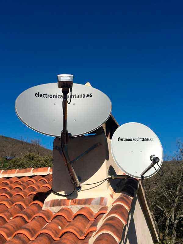 Instalación de Internet y TDT por Satélite en Logrosán (Cáceres)